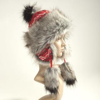 Czapka zimowa damska czerwona