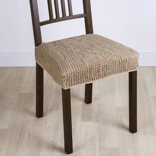 Super streczowe pokrowce GLAMOUR orzeszkowe, krzesła 2 szt. 40 x 40 cm