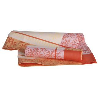 Ścierki kuchenne bawełniane pomarańczowe 50 x 70 cm