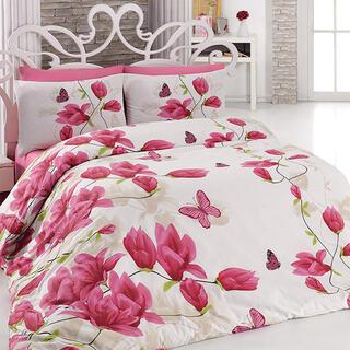 Pościel bawełniana Alize Pink różowa