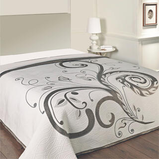 Narzuta na łóżko DOMINIC BLACK