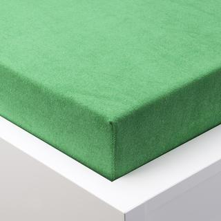 Elastyczne frotte prześcieradło EXCLUSIVE zielone