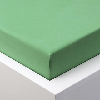 Prześcieradło Jersey z gumką EXCLUSIVE zielone