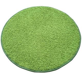 Dywan okrągły SHAGGY zielony