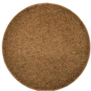 Dywan okrągły SHAGGY brązowy