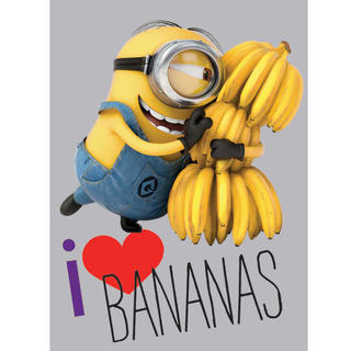 Dywan dziecięcy MINIONKI banany