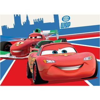 Dywan dziecięcy Auta Cars czerwony