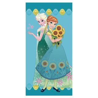 Ręcznik kąpielowy dla dzieci Kraina lodu księżniczki