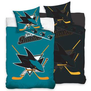Pościel bawełniana NHL San Jose Sharks