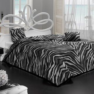 Narzuta na łóżko Bengal czarna