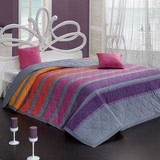 Narzuta na łóżko Susan fioletowa