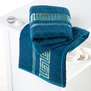 Ręczniki bambusowe Rome niebieskie