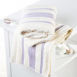 Ręczniki bawełniane frotte Paris śmietankowe