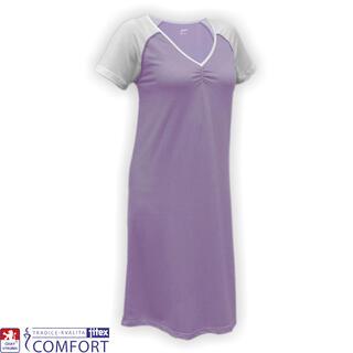 Koszula nocna damska funkcyjna Juska fioletowa