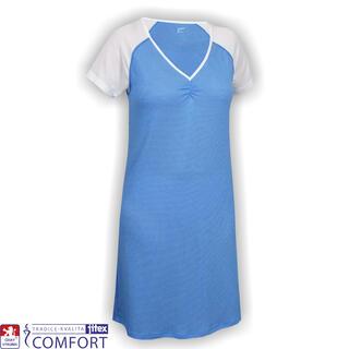 Koszula nocna damska funkcyjna Juska niebieska
