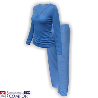 Piżama damska funkcyjna Julepa niebieska