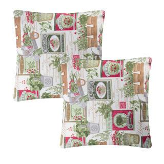 Poszewka na poduszkę patchwork Herb 2 szt.