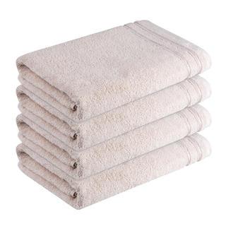 Ręczniki bawełniane frotté Rimini beżowe