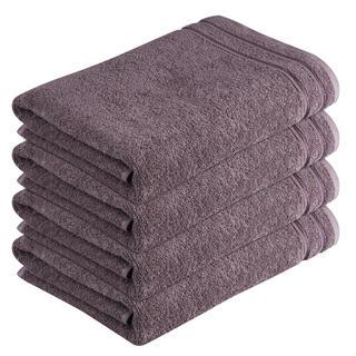 Ręczniki bawełniane frotté Rimini brązowe