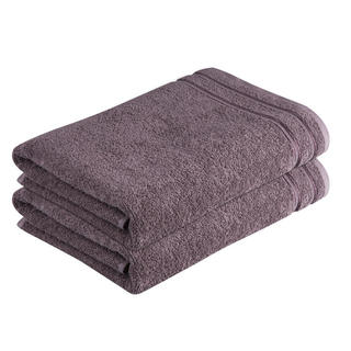 Ręcznik kąpielowy bawełniane frotté Rimini brązowy