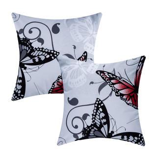 Bawełniane poszewki na poduszki Butterfly 2 szt.