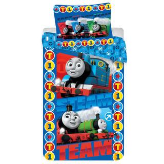 Pościel dziecięca Lokomotywa Thomas Steam