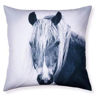 Dekoracyjna poszewka na poduszkę Koń art