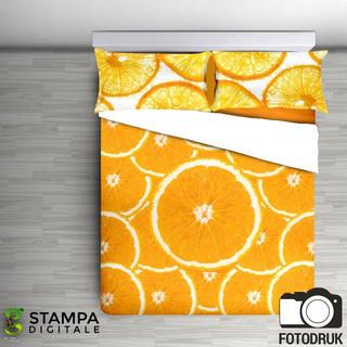 Pościel bawełniana Arance pomarańczowa