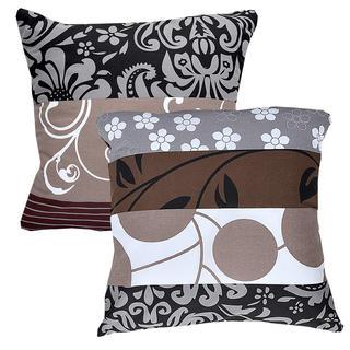 Bawełniane poszewki na poduszki Chocolate 2 szt.