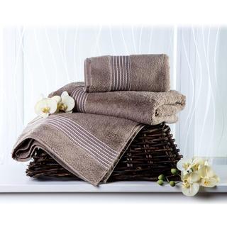 Ręcznik kąpielowy z mikrobawełny beżowy