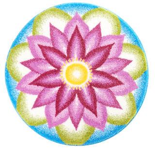 Dywan z powłoką antypoślizgową Mandala Porozumienie