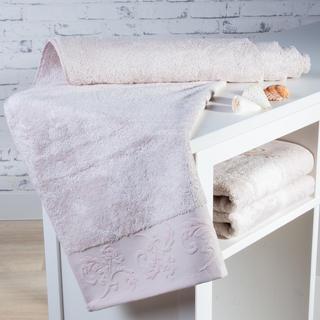 Ręcznik kąpielowy bambusowy Barcelona beżowy