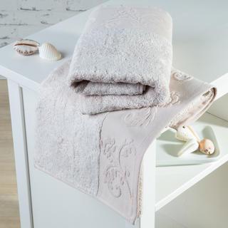 Ręczniki bambusowe Barcelona beżowe