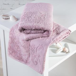 Ręczniki bambusowe Barcelona różowe