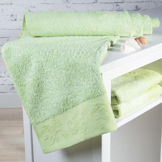 Ręcznik kąpielowy bambusowy Barcelona jasno zielony