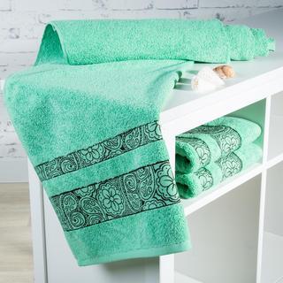 Ręcznik kąpielowy frotté Madryd zielony
