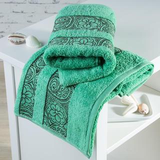 Ręczniki frotté Madryd zielone