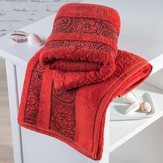 Ręczniki frotté Madryd terakota