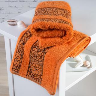 Ręczniki frotté Madryd pomarańczowe