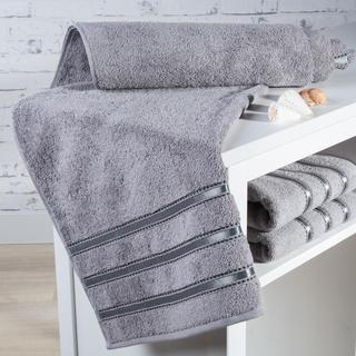 Ręcznik kąpielowy frotté Bilbao szary