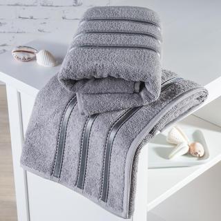 Ręczniki frotté Bilbao szare