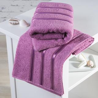 Ręczniki frotté Bilbao różowe