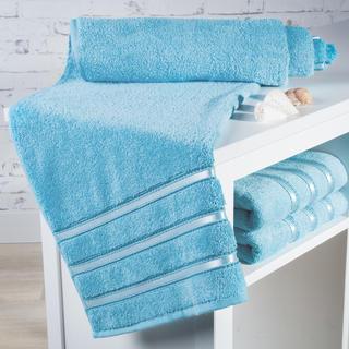 Ręcznik kąpielowy frotté Bilbao błękitny