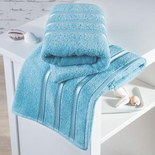 Ręczniki frotté Bilbao błękitne