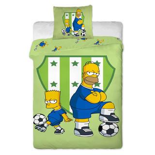 Pościel dziecięca Bart i Homer
