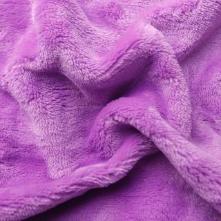 Napinane prześcieradło SLEEPWELL z mikropluszu lila