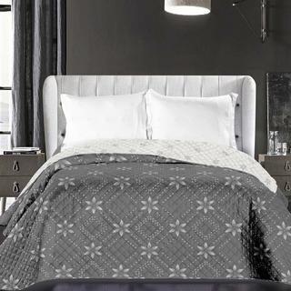 Narzuta na łóżko Elizabeth szara