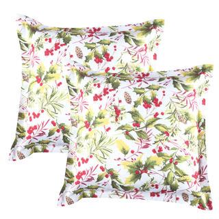 Poszewki na poduszki Poinsettia 2 szt.