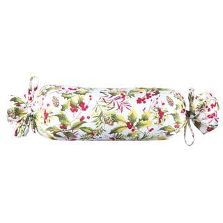 Poduszka dekoracyjna Poinsettia walec