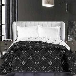 Narzuta na łóżko Elizabeth czarna